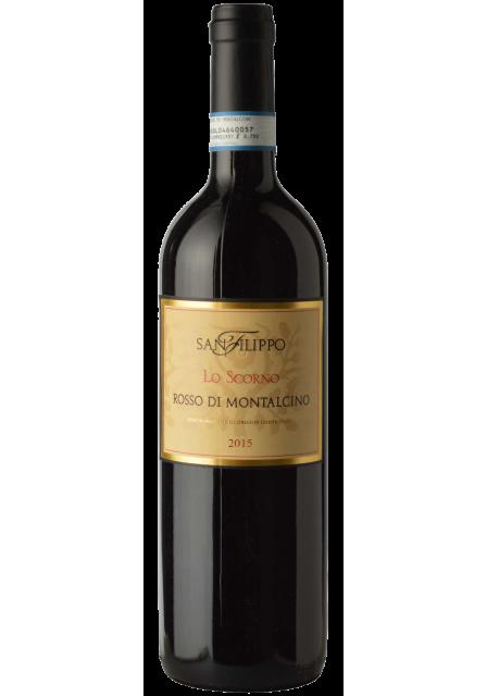 Rosso di Montalcino Lo Scorno DOC 2015, 75cl